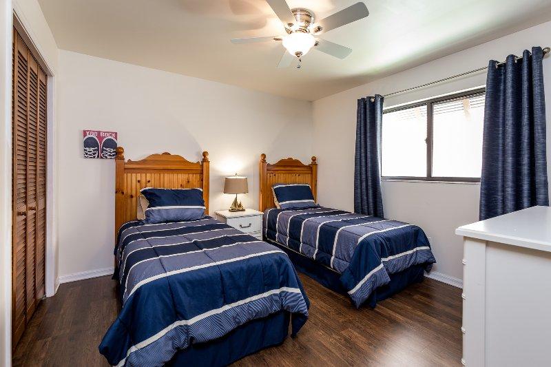 Dormitorio 3 con dos camas