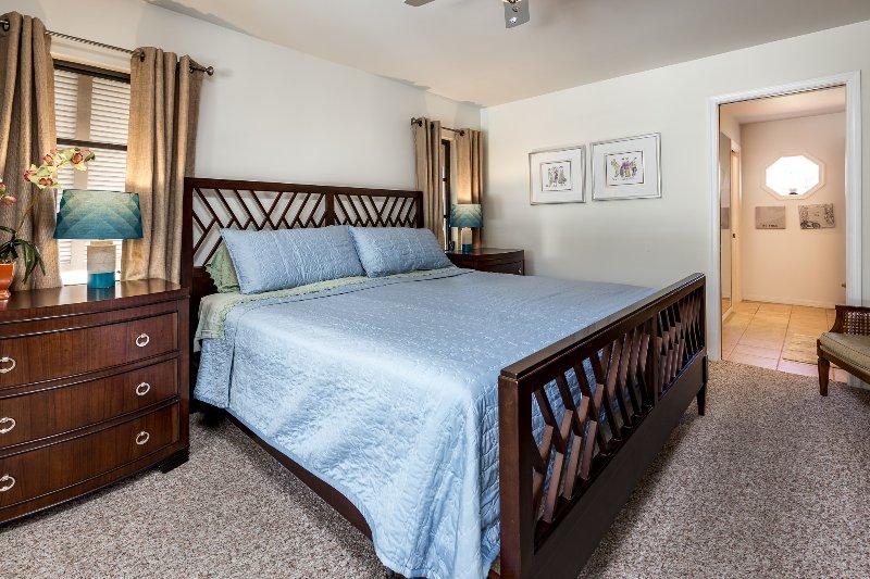 Dormitorio principal, una cama matrimonial