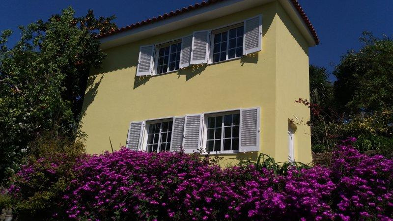 Sunny 'casa das laranjeiras' in the gardens of the quinta