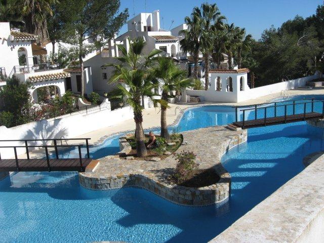 the beautiful large pool.