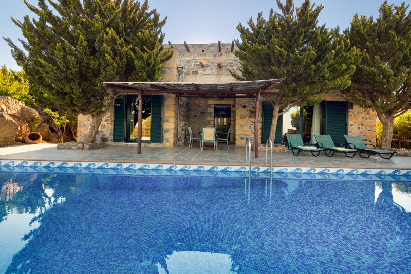 Lefkothea Villa in West Crete – semesterbostad i Keramoti
