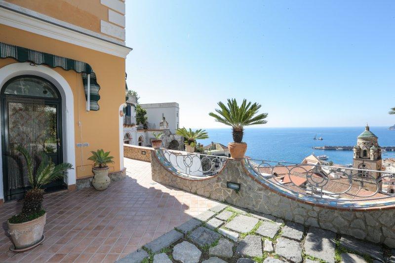Villa Rosario, holiday rental in Amalfi