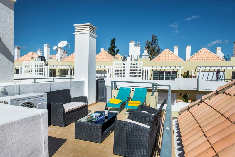 Casa Linda's roof terrace. The perfect place to relax.