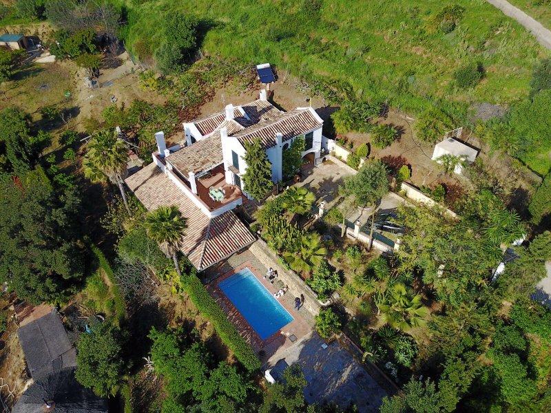 Villa Huerta la casa, holiday rental in Monda