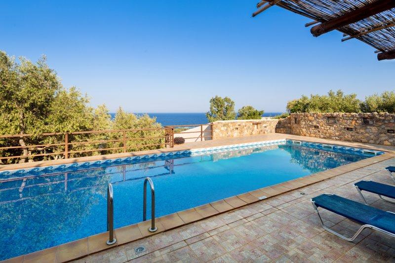 Kimothoe villa in West Crete – semesterbostad i Amigdhalokefali