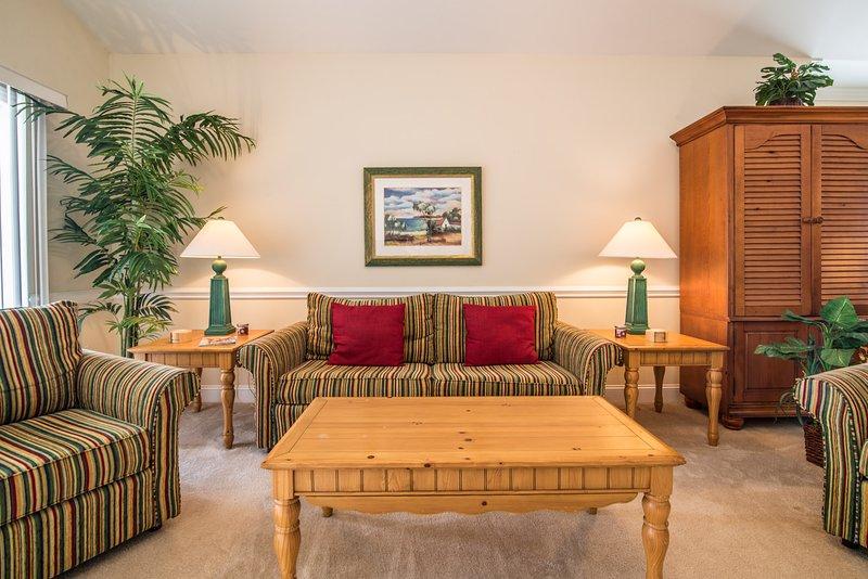 Living Room w/Balcony Access