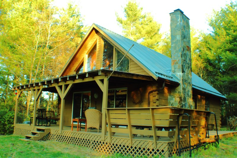 Ridge View Cabin – semesterbostad i Willis