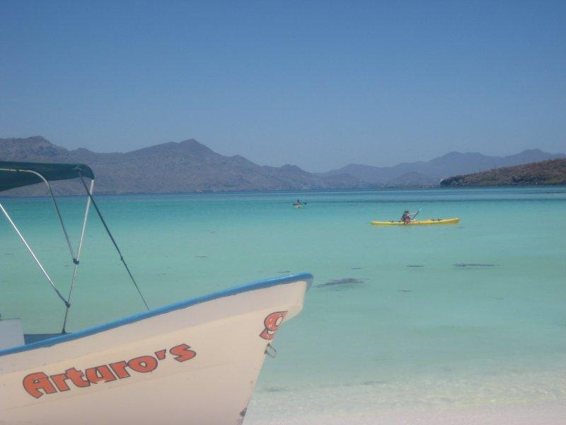 Prenez un bateau pour l'île de Coronado pour un paradis tropical.
