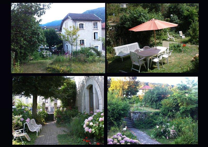 T3 dans villa coecilia jadin, location de vacances à Ax-les-Thermes