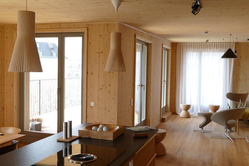 Gesund Übernachten im Vollholz-Penthouse, location de vacances à Dresde