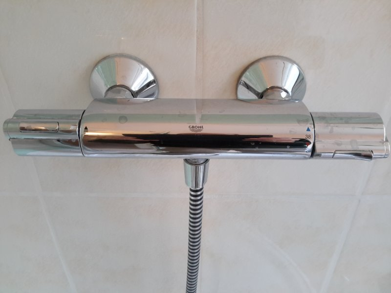 Thermostatic mixer Grohe shower