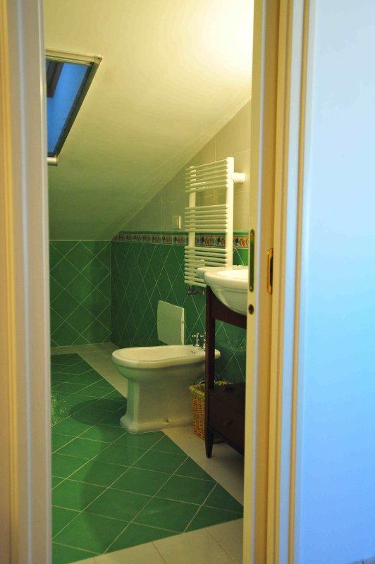 Bathroom mansard