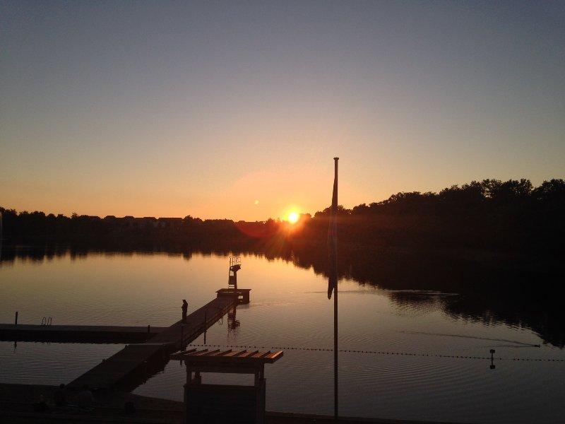 Sunset on Lake Glambecker