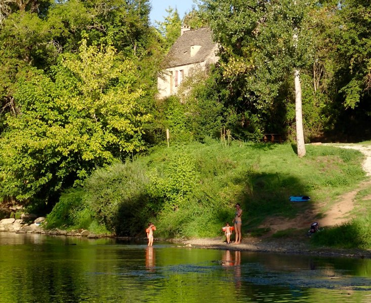 Stone house in the Vezere