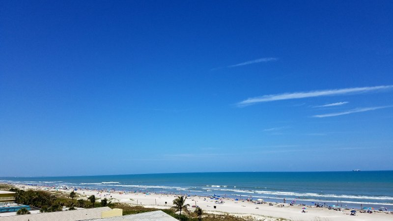 Enjoy the beautiful views from our balcony!