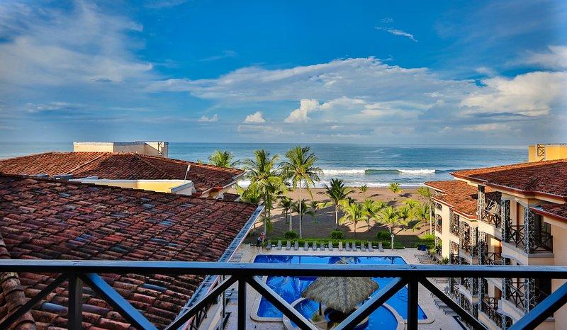Piso superior - penthouse VERDADEIRO com vista total de Jaco Beach!