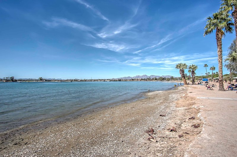 Have an unforgettable stay when you visit this Lake Havasu vacation rental home.