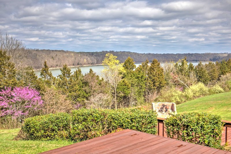 Soak up spectacular views of Monticello, Kentucky when you stay at this beautiful 3-bedroom, 2-bathroom vacation rental house!