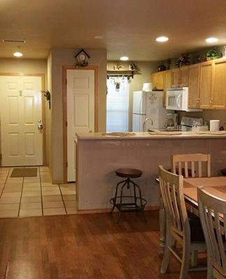 Fully Stocked Kitchen/Dining Room