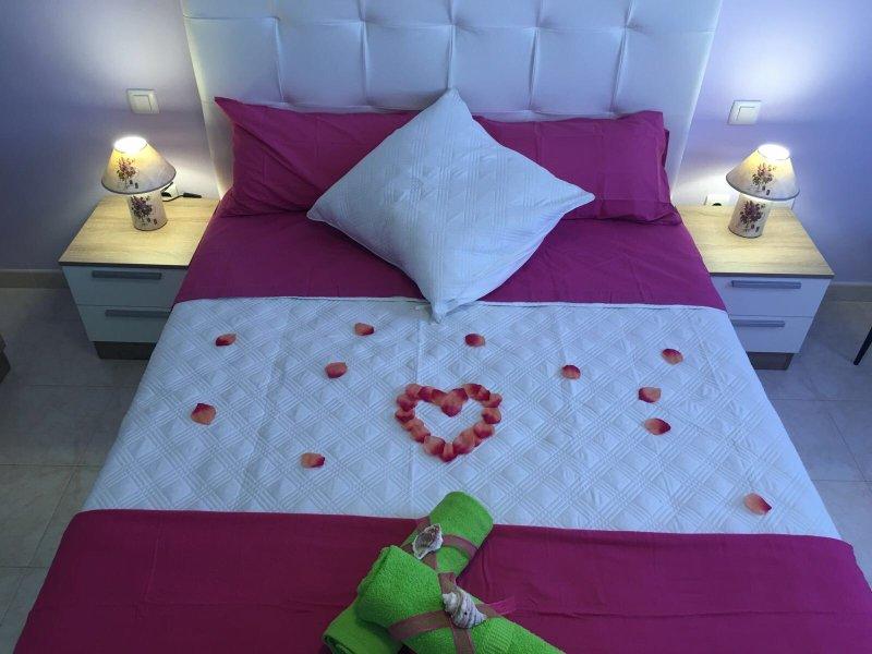 Une ambiance romantique