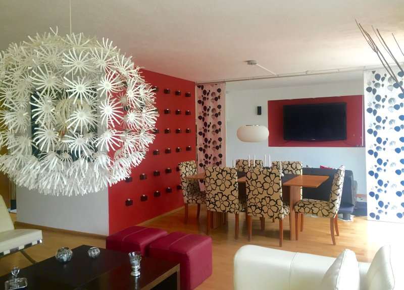 APARTMENT NEAR SANTA FE, CUAJIMALPA MEXICO CITY, vacation rental in Mexico City