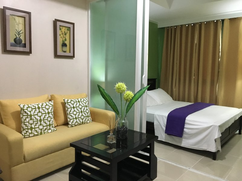 Studio Robinsons Place Residences - RPR03, holiday rental in Manila