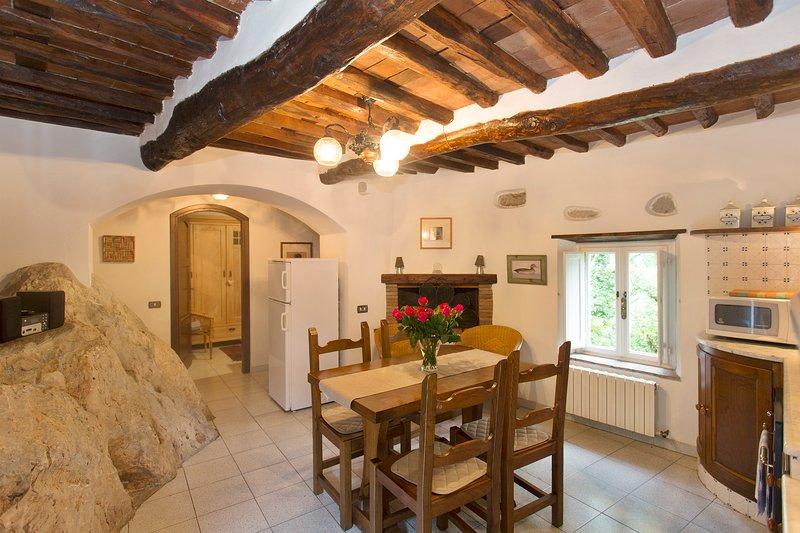 La Roccia, Borgo della Madonnina, Lucca, Tuscany – semesterbostad i Fabbriche di Vergemoli