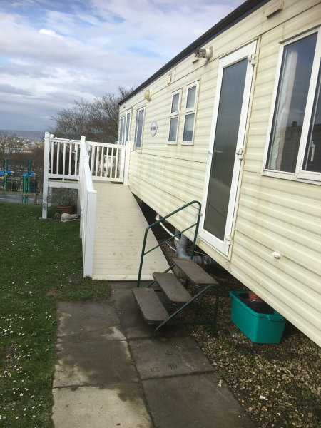 Ramp leading to cosy Glamorgan 9