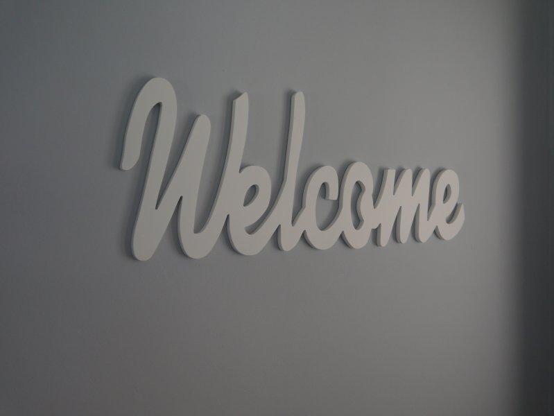Sie sind jederzeit Willkommen
