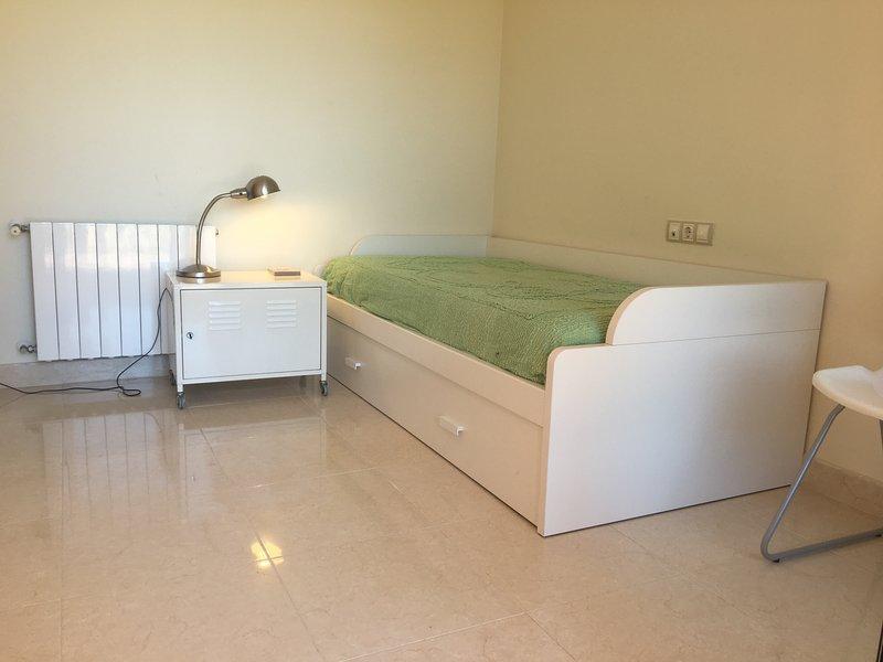 2 quartos com terraço