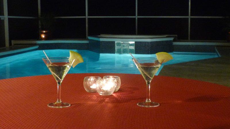 Cocktails no convés - céu!