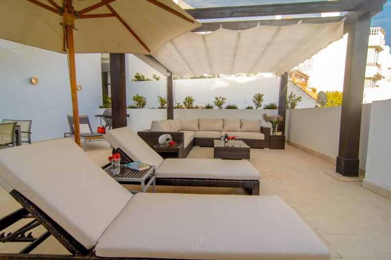 Top quality apartment with large terrace (220m2)