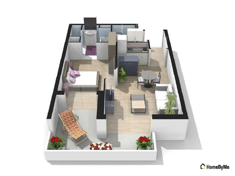 Coquet petit T2 Blagnac centre, holiday rental in Beauzelle