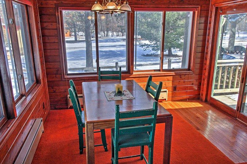 Não há nada melhor do que refeições caseiras com uma vista!