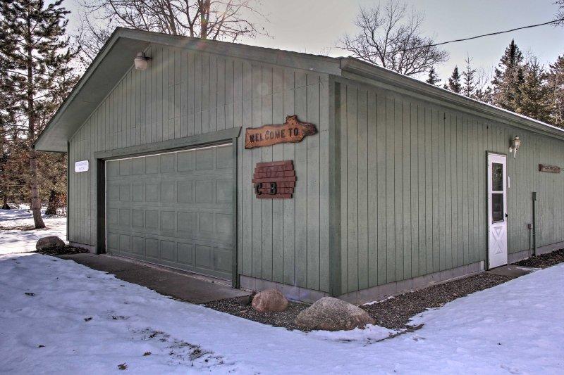 Reservar este cabine de aluguer de férias para o máximo fuga Pequot Lakes!