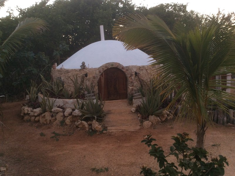 Temazcal within the facility