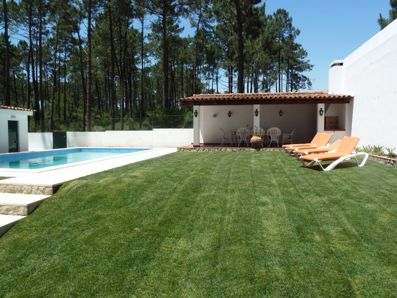 4 bedroom villa with Private Pool, holiday rental in Fernao Ferro