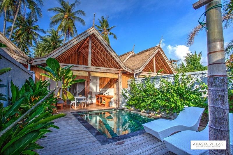Akasia Villas - 1 Bedroom - Private Pool, holiday rental in Gili Air