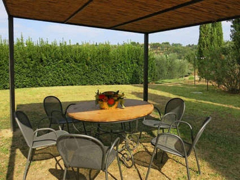 Dine al fresco in your own private garden