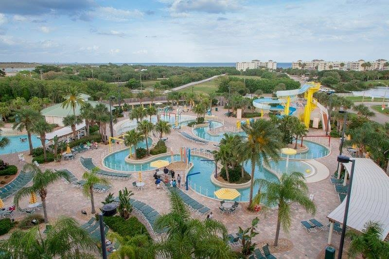 Beach Resort Water Park Hot Tub Lazy River Slide Child