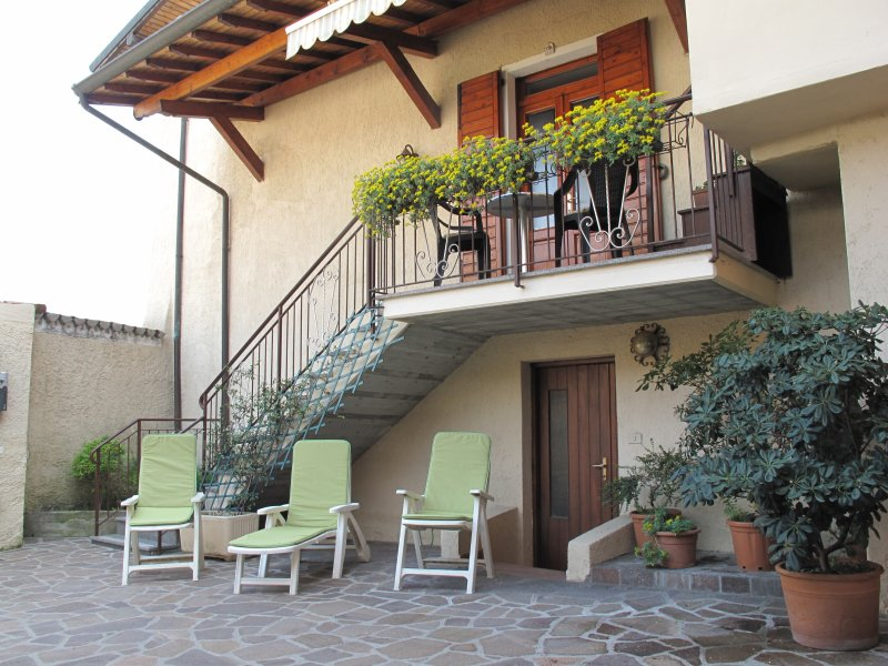 """Villa Lina"""" is our centuries-old family home"""", holiday rental in Villanuova sul Clisi"""