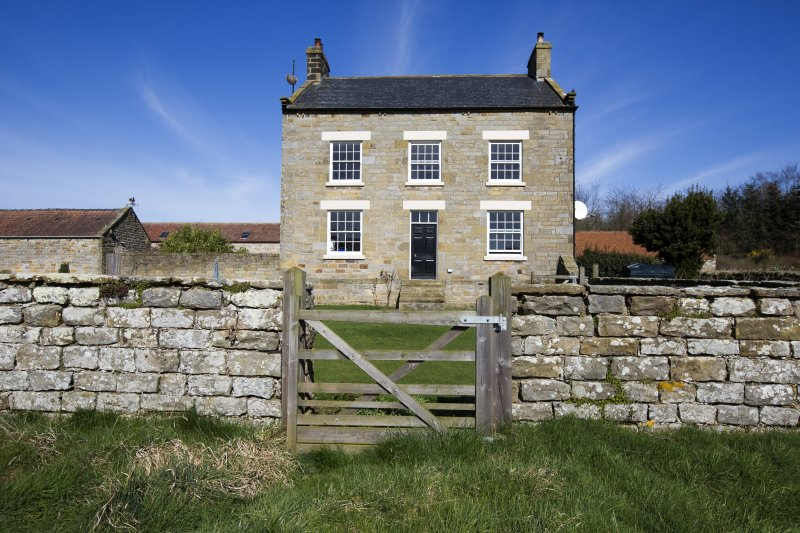 Front of the farmhouse