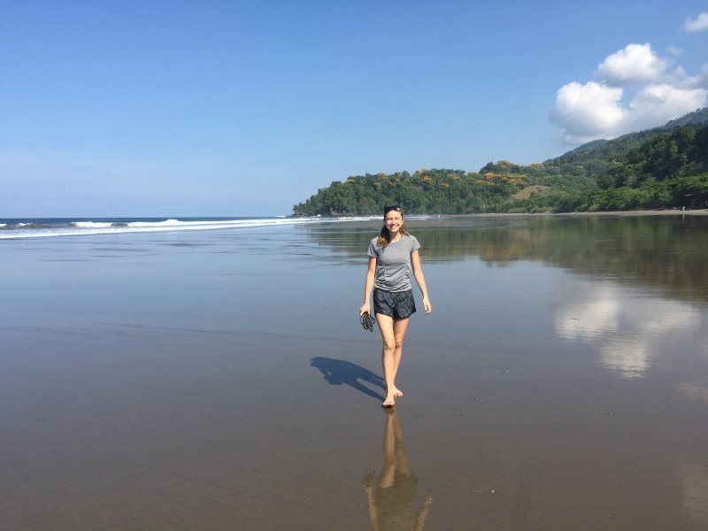 La villa se encuentra a pocos minutos de algunas de las playas más bellas del país