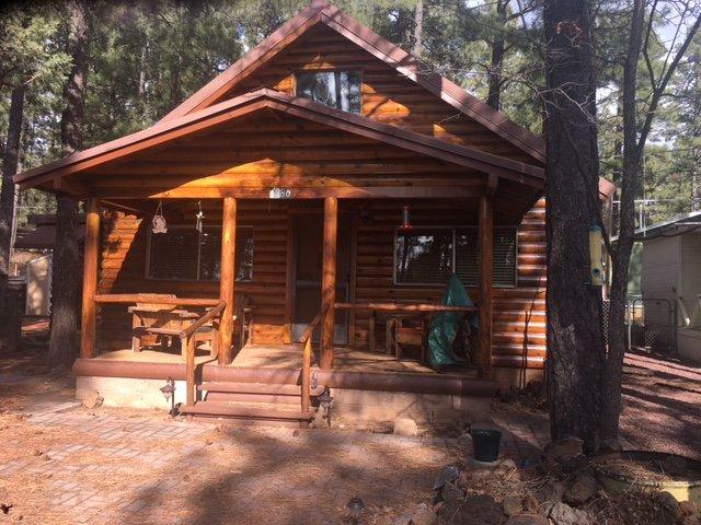 Cozy cabin getaway