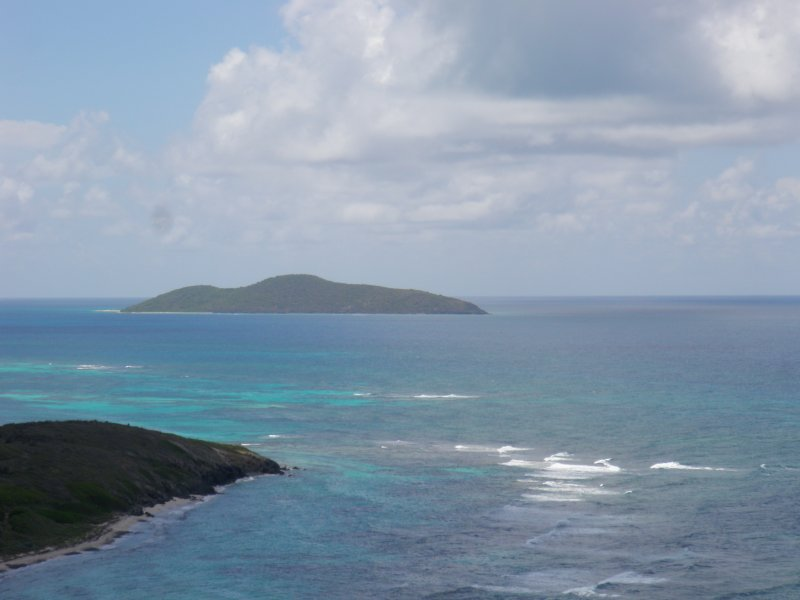 Buck Island is a great spot for snorkeling and diving