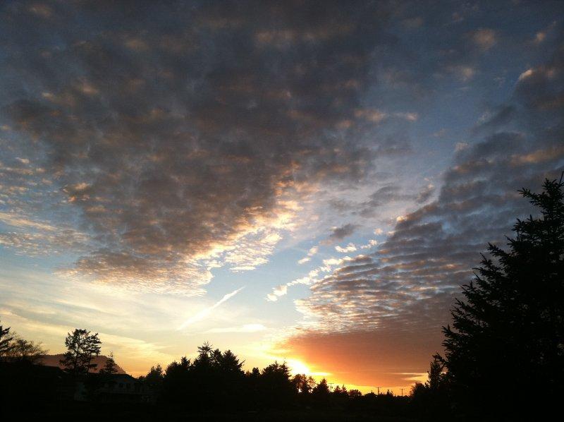 Increíbles puestas de sol!