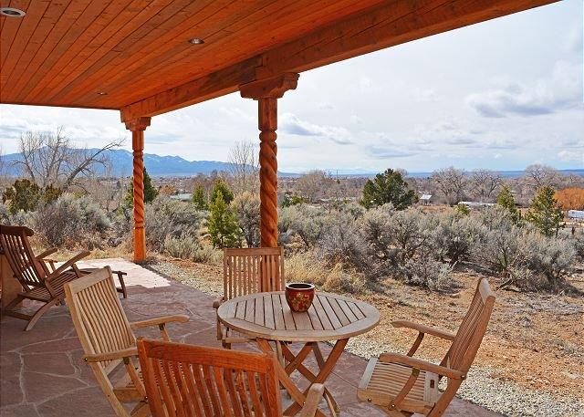Taos Eagle Nest grande pátio coberto