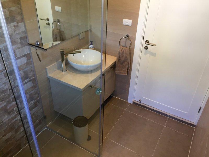 Bathroom for bedroom 3.
