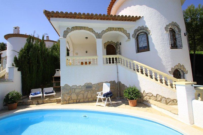 ANDORRA Villa piscina privada y Wifi gratis, alquiler de vacaciones en Miami Platja
