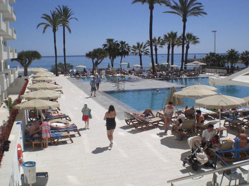 Hotel Pools, small pool heated